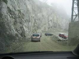 -And driving down the quarry (photo GDQ) (27-03-2004)